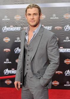 Thor cleans up nice!