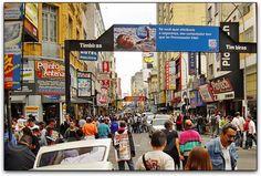 Santa Efigênia Street (São Paulo, Brazil).