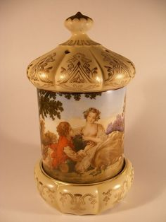 Love this Limoges style music box from Megsantiques, Etsy