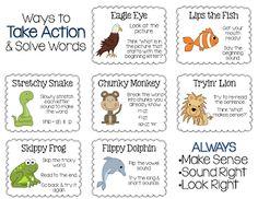 FREEBIE Reading Strategies - posters, bookmarks