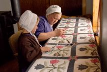 amish quilts, stitch, hand quilting