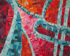 """The Curves by Nina-Marie Sayre - 56"""" by 46"""""""