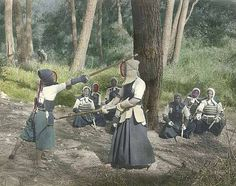 People practicing kendo, Japan (1921) by UW Digital Collections, via Flickr