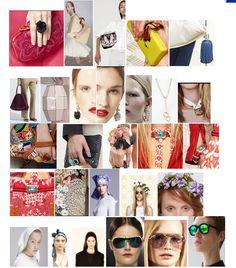 Accessories bags jewels  trends in preview collections Spring Summer 2014 ------ Tendenze saccessori borse e gioelli nelle pre collezioni Primavera Estate 2014