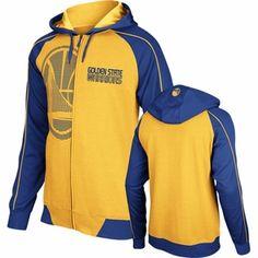 adidas Pindot Full-Zip Fleece Hooded Sweatshirt - Gold