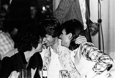 Lou Reed, Mick Jagger, & David Bowie