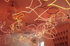 Neon installation PS1 MoMA 2007