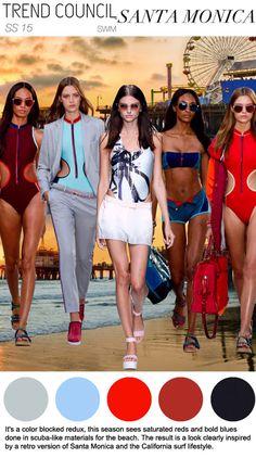 Women's: Spring Summer 2015 swimwear -Trend Council