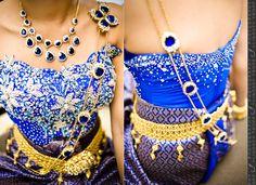 Cambodian wedding jewelry