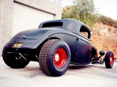 32 Ford 3 Window Coupe Highboy By Otto