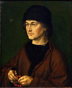 Portrait Of The Artist's Father Galleria degli Uffizi Firenze  #TuscanyAgriturismoGiratola