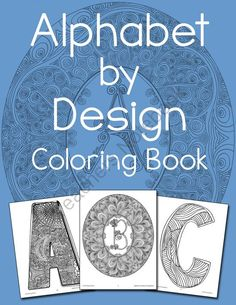 Alphabet by Design Coloring Book Giveaway! Enter for your chance to win 1 of 3.  Alphabet by Design Coloring Book (83 pages) from Warm Hearts Publishing on TeachersNotebook.com (Ends on on 10-25-2014)  Enter for a chance to win the Alphabet by Design Coloring Book, a collection of three decorative alphabets that will keep your students happy for hours.