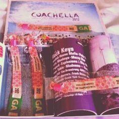 coachella, piles, bracelets, planet blue, wristbands, general admission, 2012, hot pink
