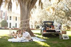 southern picnic wedding inspiration_006