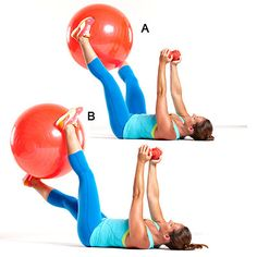 Got a stability ball? Then you can try this killer ab workout that will melt inches from your midsection in one month! | http://www.health.com/health/gallery/0,,20634717_5,00.html#