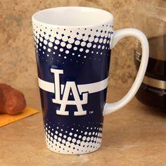 L.A. Dodgers 16oz. Sculpted Latte Mug