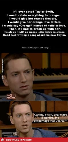 Eminem is so great.