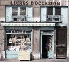 bookshop, lyon, france