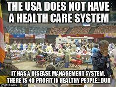 Healthcare vs. disease management system