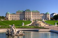 Belvedere Palace Museum in Vienna. I lived about four blocks away and it was one of my favorite places to go.
