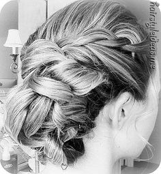 idea, hairstyles, hairstyl inspir, braid updo, wedding hairs, bridal hair, beauti, bridal braid, fantasi hairstyl