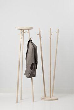 Twist - Coat rack two ways.