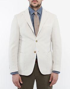 canvas blazer