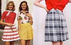 1970s Scooter Skirts