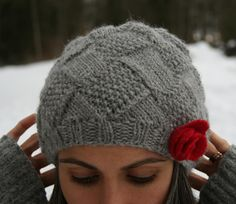 Knitting Ideas | Project on Craftsy: Entrelac winter hat