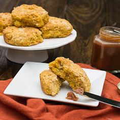 Sweet Poatao Biscuits are a welcome addition to any fall meal.