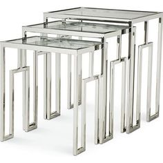 Safavieh Home Furnishings - Urban Contemporary Nesting Table, Call for pricing (http://www.safaviehhome.com/side-and-end-tables-urban-contemporary-nesting-table/383-842)
