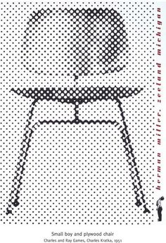vintage Herman Miller ad / eames