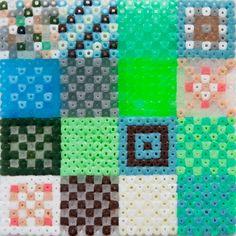 Perler bead quilt design