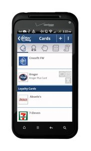 The Key Ring App helps you save money and keeps you organized - You can load all your store loyalty cards to this app!