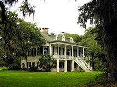 Owen Winston, President of Brooks Brothers, purchased the plantation in 1929 and restored the house. Adams Run, South Carolina