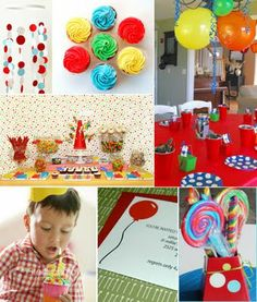 more primary color party ideas