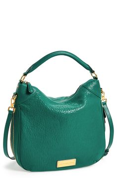 Yes to this emerald Marc Jacobs hobo!