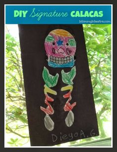 Mommy Maestra: Create Your Own Signature Calacas