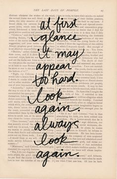 always look again.#Repin By:Pinterest++ for iPad#