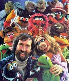 Jim Henson : Love this man and how he created so much love!