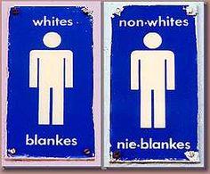 apartheid; whites/non-whites