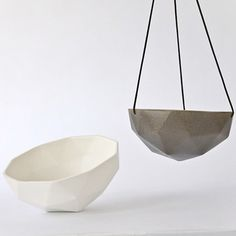 minimal & modern hanging planter / container