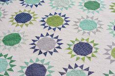 Hyacinth Quilt Designs: Nutmeg Stars
