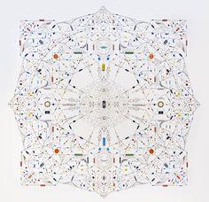 Leonardo Ulian's Technological Mandalas Signify Worship of Technology