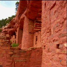 Manitou cliff dwellings, Manitou springs Colorado