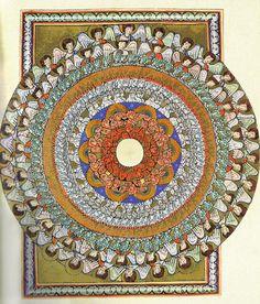 Visions of the Angelic Hierarchy by Hildegard von Bingen