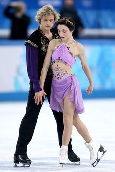 Gold Medalist: Meryl Davis and Charlie White,  first American ice dancers to win gold.