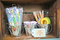 Summer Camp Theme Party Favors