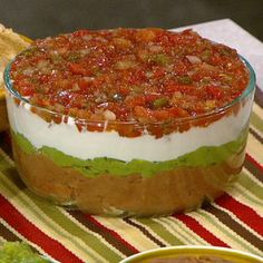Carla's Mexican 5-Layer Dip - the chew - ABC.com