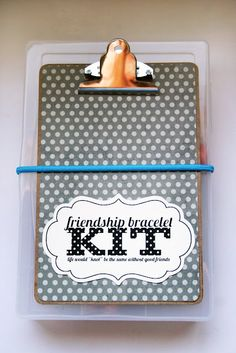 eighteen25: friendship bracelet kits